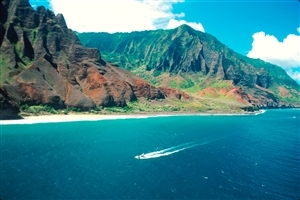 Na Pali Coast State Park Hawaiian Island Nature HD Wallpaper